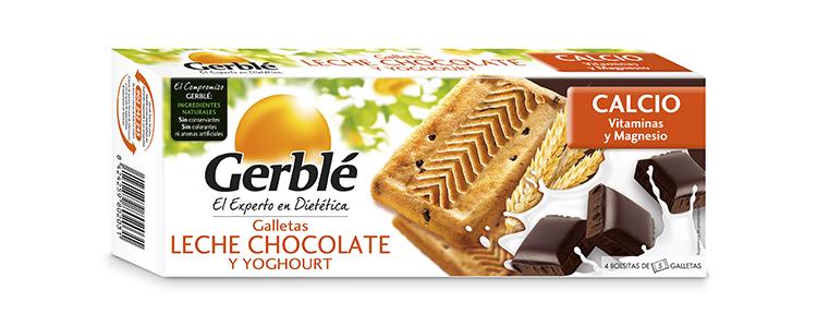 Galletas Leche Chocolate Y Yoghourt