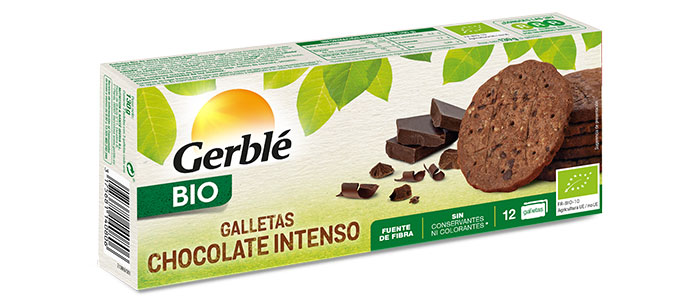 Galletas Bio Con Chocolate Negro Intenso