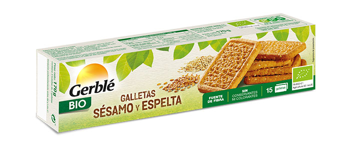 Galletas Bio De Sésamo Y Espelta