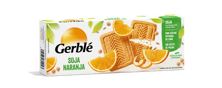 Galletas Soja Naranja